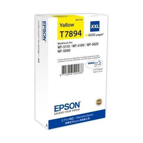T7894 Y XXL EREDETI EPSON TINTAPATRON