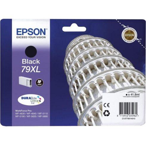 T7901 (C13T79014010) FEKETE EREDETI EPSON TINTAPATRON
