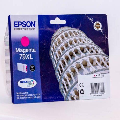 T7903XL (C13T79034010) MAGENTA EREDETI EPSON TINTAPATRON