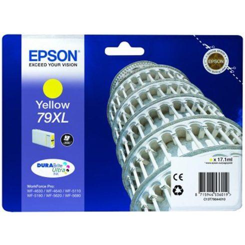 T7904XL (C13T79044010) YELLOW  EREDETI EPSON TINTAPATRON