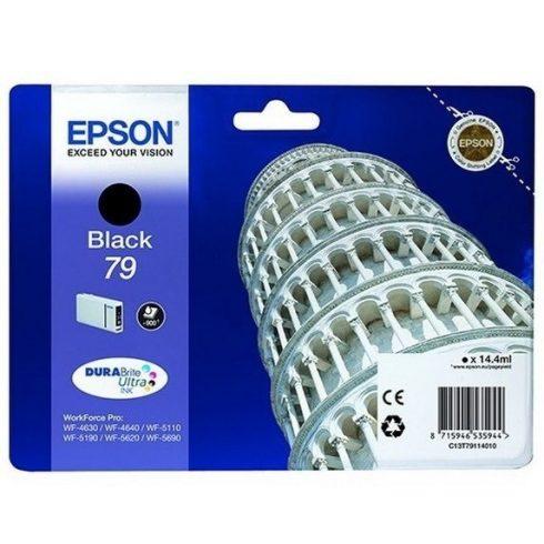 T7911 (C13T79114010) FEKETE EREDETI EPSON TINTAPATRON