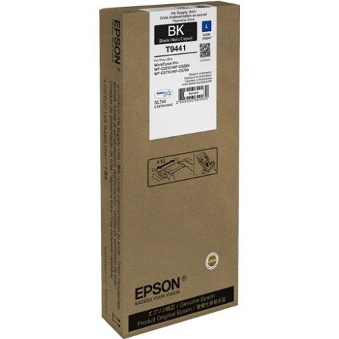 T9441 BLACK 3K 35.7ML EREDETI EPSON TINTAPATRON