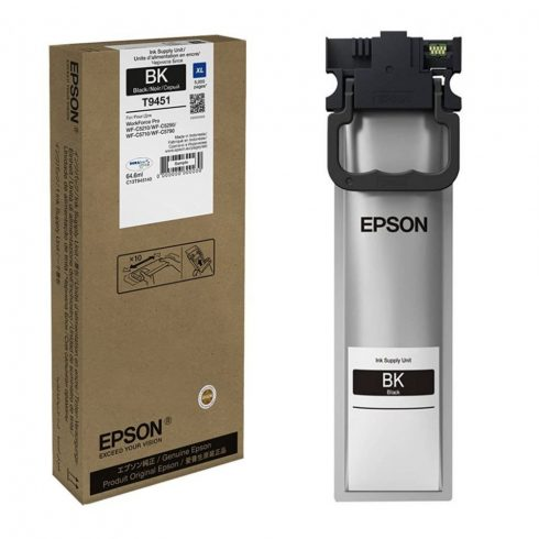 T9451 BLACK 5K 64.6ML EREDETI EPSON TINTAPATRON