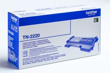 BROTHER TN-2220 (2,6K) EREDETI TONER
