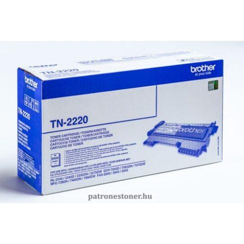 TN-2220 LEÉRTÉKELT (2,6K) EREDETI BROTHER TONER