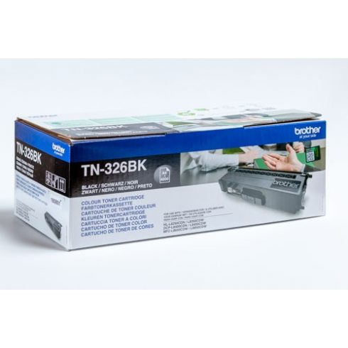 TN-326 BLACK 4K EREDETI BROTHER TONER