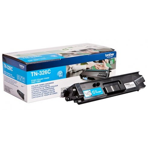 TN-326 CYAN 3,5K EREDETI BROTHER TONER