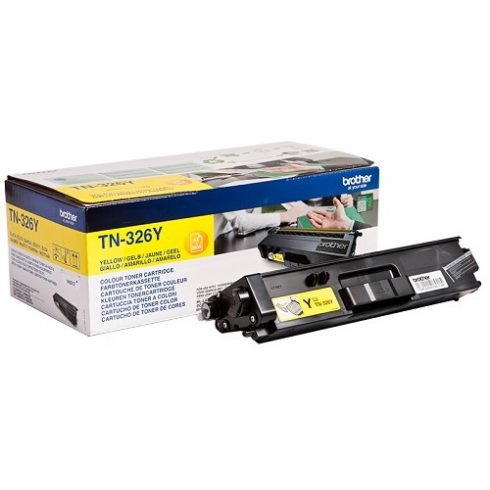BROTHER TN-326 Y 3,5K EREDETI TONER YELLOW