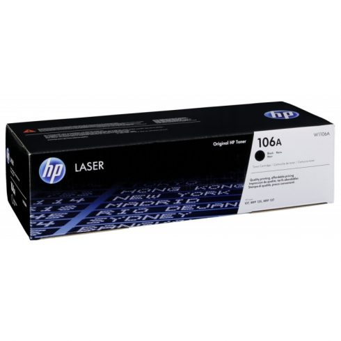 W1106A(106A) BLACK(107, MFP 135, MFP 137) EREDETI HP TONER
