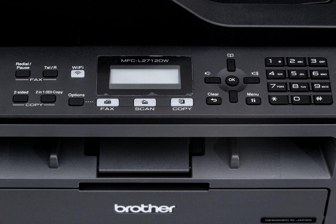 Multifunkciós WiFi lézernyomtató - Brother L2712DW
