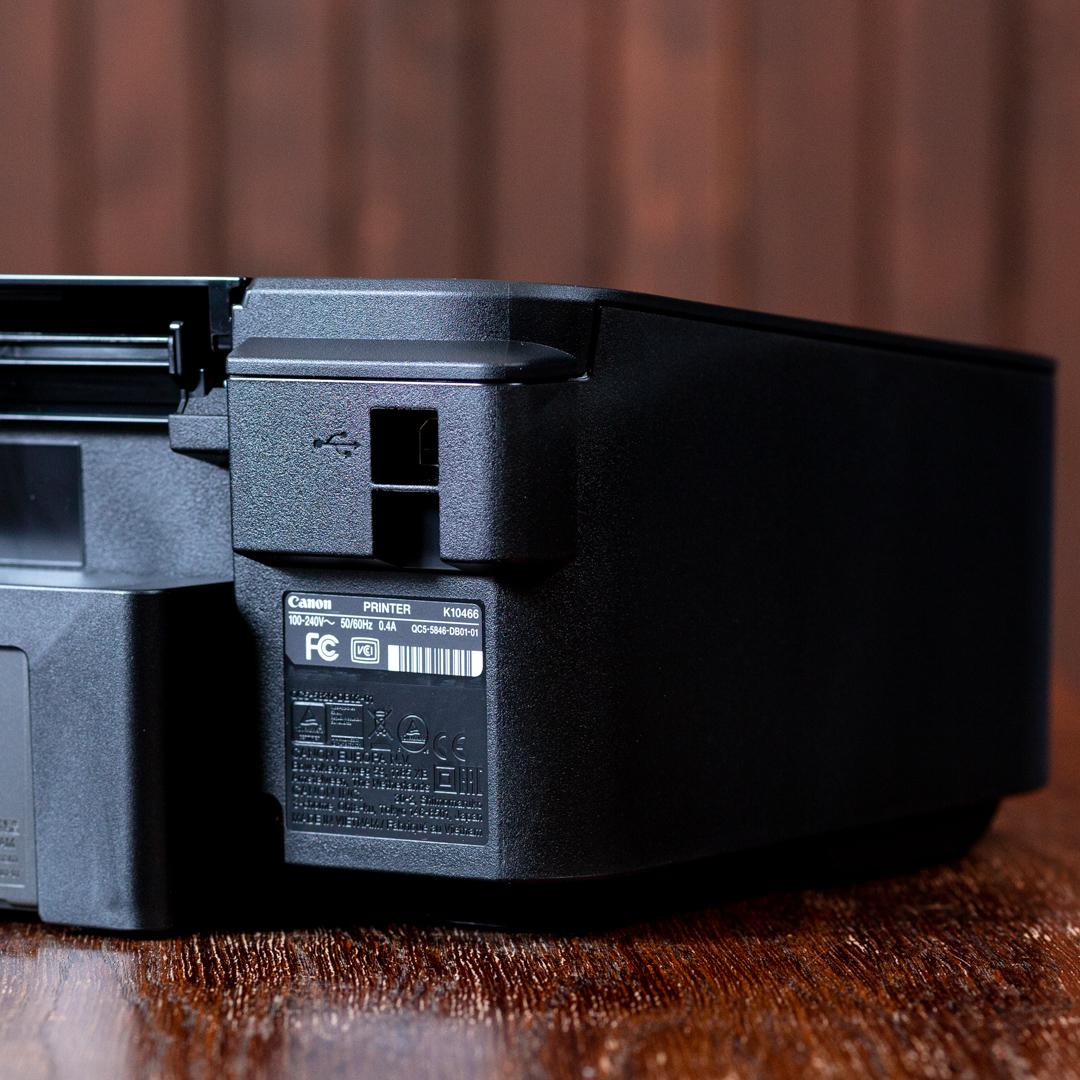 Canon TS205 olcsó színes nyomtató USB port
