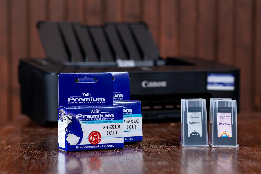 Canon TS205 + Zafir Premium PG-545XL és CL-546XL utángyártott patronok