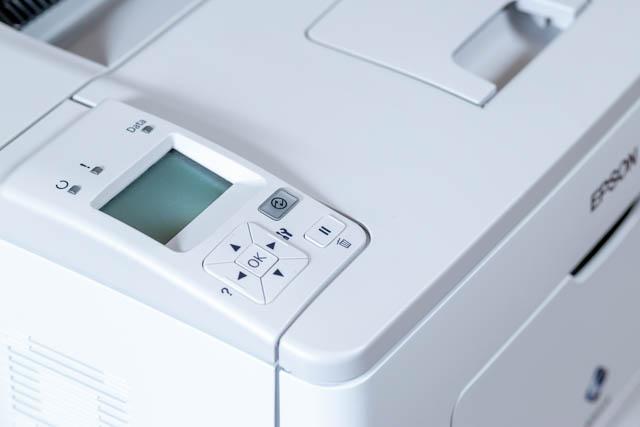 Epson M300 ultratakarékos nyomtató kezelőfelülete