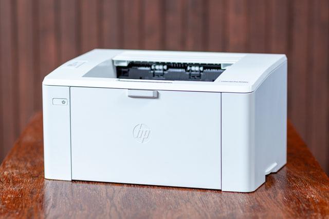 HP M102a – A legkisebb HP lézernyomtató elölnézetben