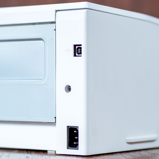 HP M102a – A legkisebb HP lézernyomtató csatlakozói