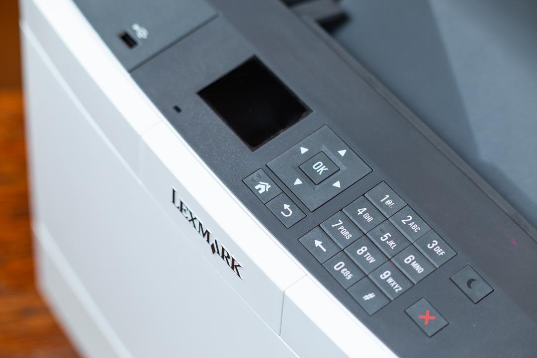 Drága színes lézernyomtató - Lexmark CS417dn