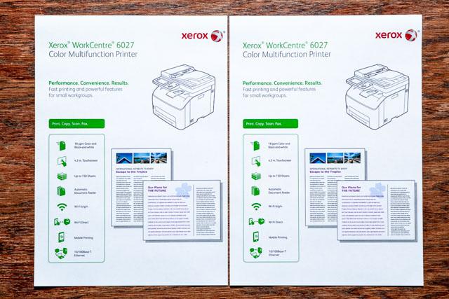 Xerox 6027 színes multifunkciós lézernyomtató – Zafir Premium vs. eredeti
